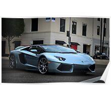Not a Lamborghini Aventador Roadster :) Poster