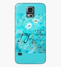 The Joy of the Lord is my Strength by Jan Marvin Case/Skin for Samsung Galaxy