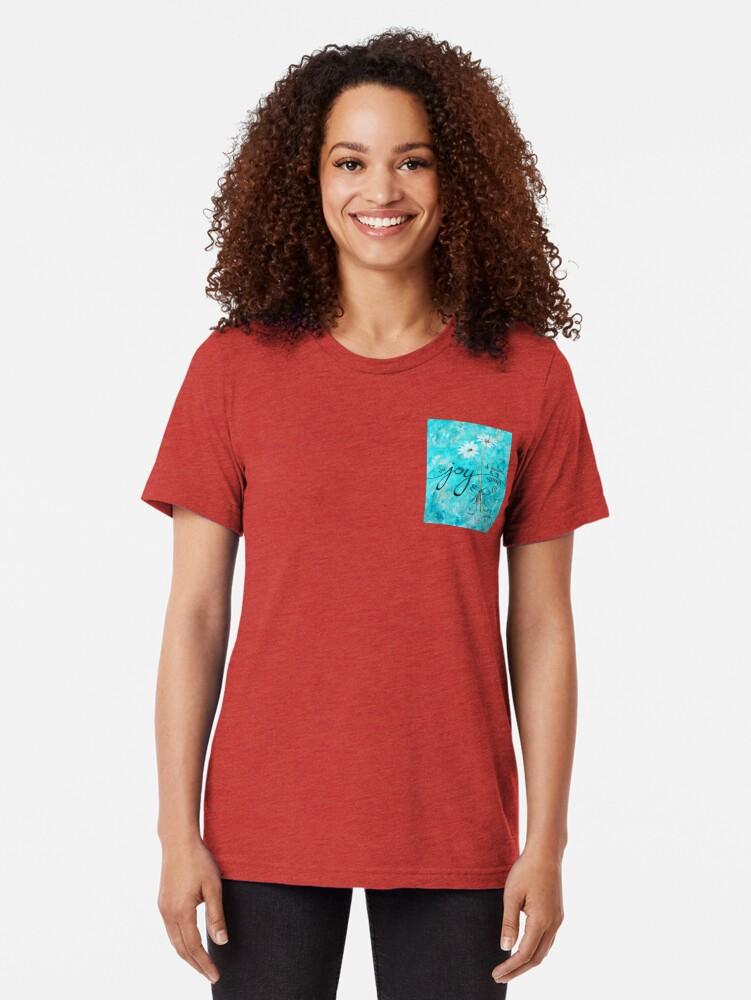 Alternative Ansicht von Die Freude des Herrn ist meine Stärke von Jan Marvin Vintage T-Shirt