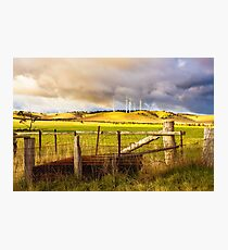 Australian Countryside Landscape Photographic Print