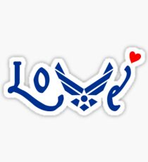 U.S. Airforce Love Sticker