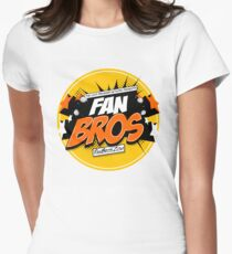 FanBros Full Logo Women's Fitted T-Shirt