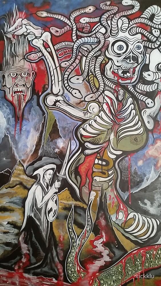 Medusa  by rickklu