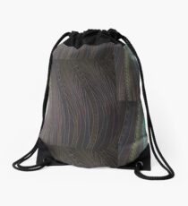 Peacock Feathers Drawstring Bag