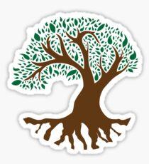 Tree of Peace - Color Sticker