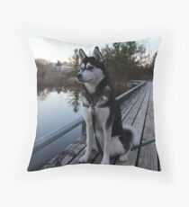 Nymeria Throw Pillow