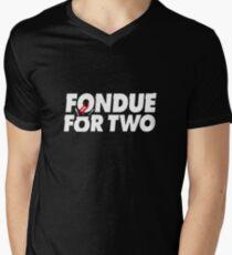 Fondue for two Men's V-Neck T-Shirt