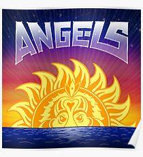 Engel durch Zufall der Rapper Poster