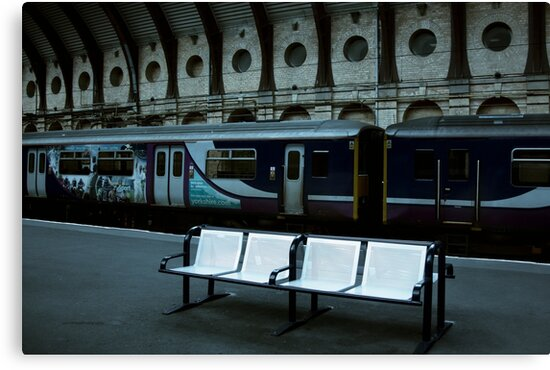 Meet Me at the Train Station (York, England, UK.) by Yannik Hay