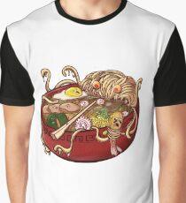 Ramen Monster Graphic T-Shirt