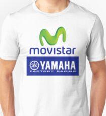 movistar yamaha factory racing logo moto gp  Unisex T-Shirt