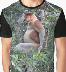 Proboscis Monkey Graphic T-Shirt