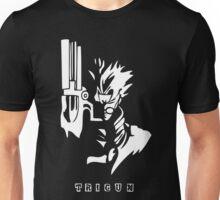 Trigun White Unisex T-Shirt