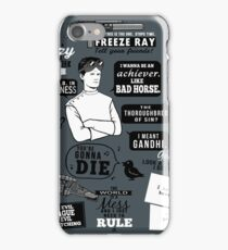Horrible Quotes iPhone Case/Skin