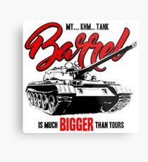 World of Tanks inspired work Metal Print