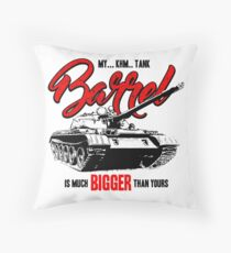 World of Tanks inspired work Throw Pillow