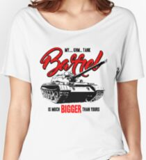 World of Tanks inspired work Women's Relaxed Fit T-Shirt