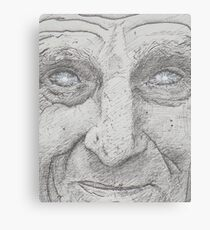 Starry eyed man. Canvas Print