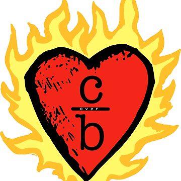 Kleidung über Bros Herz Logo von seeleybooth