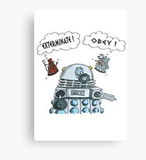 The Inner Workings of the Dalek Mind Metal Print