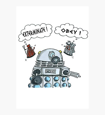 The Inner Workings of the Dalek Mind Photographic Print