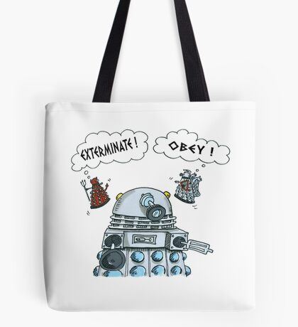 The Inner Workings of the Dalek Mind Tote Bag