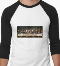 The Last Christmas Dinner Men's Baseball ¾ T-Shirt