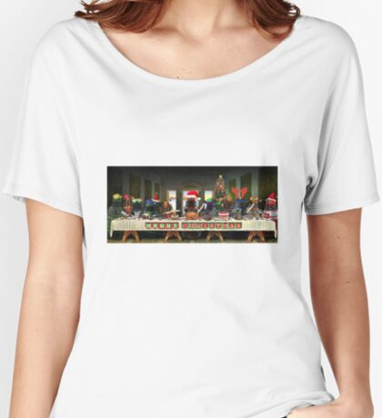 The Last Christmas Dinner Women's Relaxed Fit T-Shirt