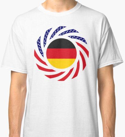 German American Multinational Patriot Flag Series Classic T-Shirt