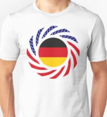 German American Multinational Patriot Flag Series T-Shirt