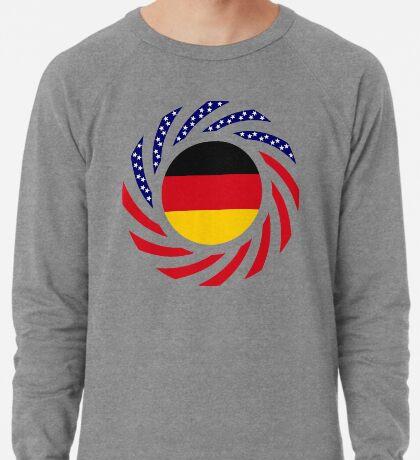 German American Multinational Patriot Flag Series Lightweight Sweatshirt