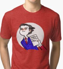 updated autopsy report Tri-blend T-Shirt