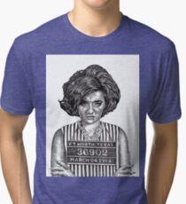 Big Hair Texas Trouble Tri-blend T-Shirt