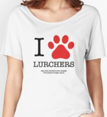 I PAW LURCHERS Women's Relaxed Fit T-Shirt