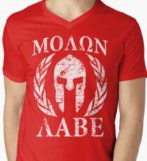 Camiseta de cuello en V molon labe 1