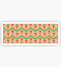 Seventh Doctor Pattern Sticker