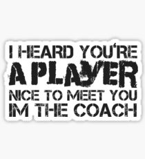 Funny Player Sexy Sex Men Woman Cool Sticker