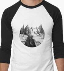 The Mountains Men's Baseball ¾ T-Shirt