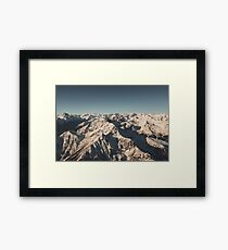 Lord Snow - Landscape Photography Framed Print