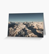 Lord Snow - Landscape Photography Greeting Card