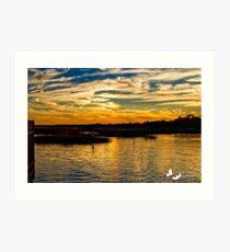 Murrells Inlet Sunset Art Print