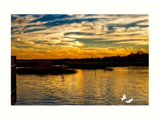 Murrells Inlet Sunset by TJ Baccari Photography