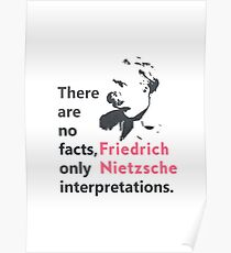 Friedrich Nietzsche quote b Poster