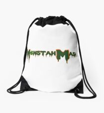 Monstah Mash meets St. Paddy's Drawstring Bag