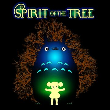 Totoro Spirit of The Tree by BoldManners
