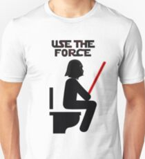 Use the Force - constipated T-Shirt
