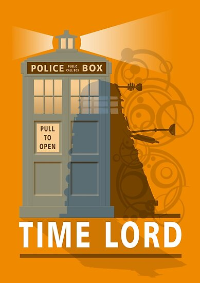 Time lord by ToneCartoons