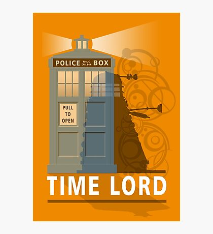 Time lord Photographic Print