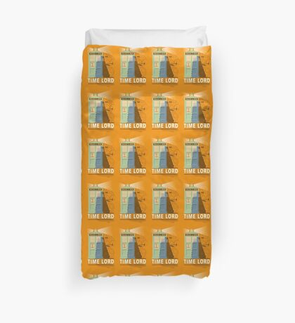 Time lord Duvet Cover