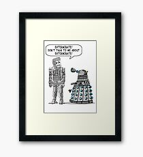 Dalek Adams 2 Framed Print